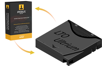 Iperius Backup Tape - Tape backup software LTO DAT